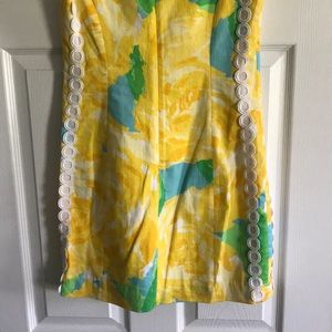 Lilly Pulitzer Dresses - Lilly Pulitzer Yellow Mila Shift Dress